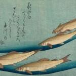 Utagawa Hiroshige trout